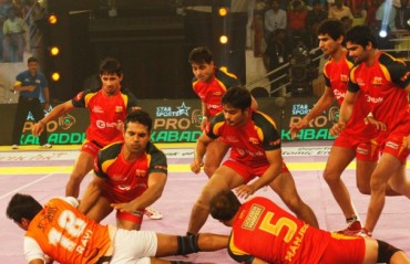 Bengaluru Bulls win 31-30 against Puneri Paltan