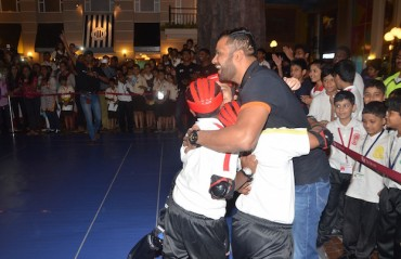 U Mumba's defenders have day out with the kids at KidZania