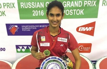 Ruthvika clinches WS Russian Open GP title while Siril settles for silver