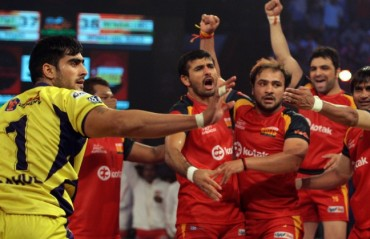 Bengaluru Bulls qualify for the finals of the second season of PKL