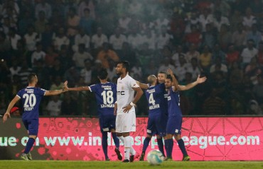 Play by Play : Succi wins it with a volley for Chennaiyin FC  as they beat NorthEast United
