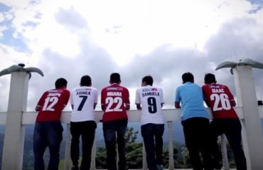 WATCH: A tour of beautiful destinations in North-East India with Shillong Lajong players