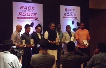 Eminent footballing personalities attend the launch of Shaji Prabhakaran's book on grassroots development