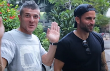 OFF WORK: Chennaiyin's Davide Succi and Manuele Blasi explore the city