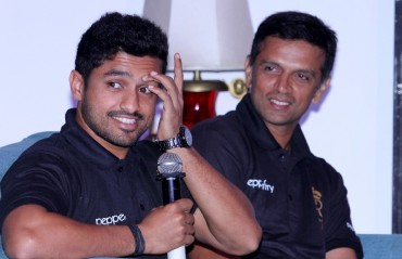 Dravid's advice gave me right kind of confidence, says Karun Nair