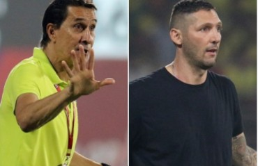 Materazzi says ref did not see volleyball being played; Guimaraes content after maiden semi final spot