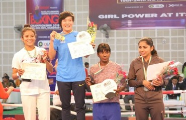 Sarjubala Devi clinches third National boxing title