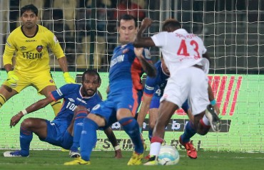 Play by Play: Marcelinho hat-trick; Brace by Gadze as Delhi showed no mercy to Goa