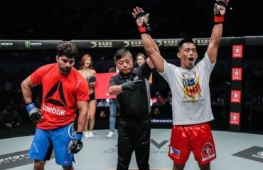 ONE Age of Domination: Rajinder Singh Meena suffers defeat  Against Honorio Banario