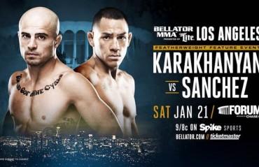 Georgi Karakhanyan vs. Emmanuel Sanchez added to Bellator 170