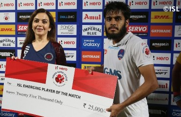 WATCH: Delhi's Dynamos Souvik Chakraborty says the team will give their 200% in the second leg
