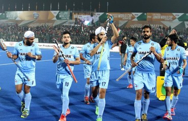 Spirited India defeat Spain 2-1 to advance to the semi-finals on Day 8