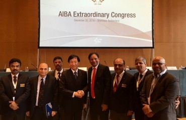 AIBA grants permanent membership to Boxing Federation of India