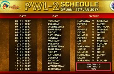 Pro Wrestling League season 2 set to get underway on January 2