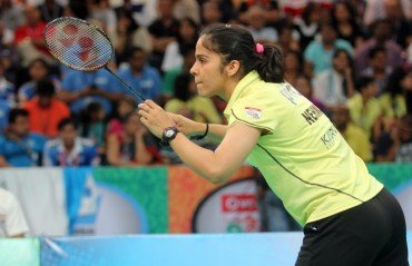 Saina on collision course against Sindhu in Japan