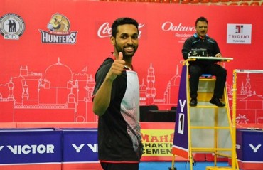 Prannoy, the saviour for Mumbai Rockets as they trump the Hunters 2-1