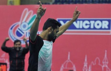 Saina ends Sung Ji's winning run but Prannoy helps Mumbai clinch the tie 4-3