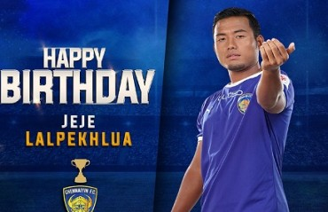 Jeje receives birthday wishes from team and fans