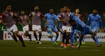 Play-by-Play: 10 man Mohun Bagan hold on to register a 1-0 win over Churchill Brothers