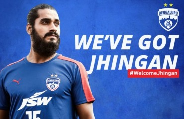 Bengaluru FC strengthen defence for I-League and Asia with the signing of Sandesh Jhingan