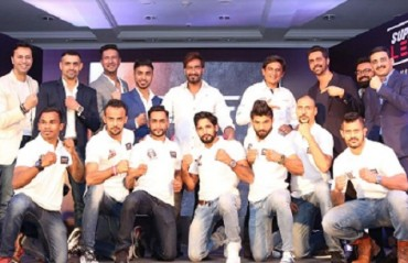 Bollywood Celebrities and corporate head honchos partner with Super Fight League for inaugural season