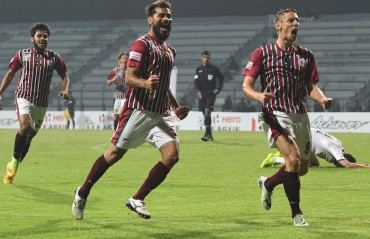 Play-by-Play: A scrappy show at Sarobar but 'Duffy is kaafi' for Bagan to beat Lajong 2-0
