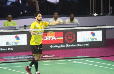 Parupalli Kashyap ruled out for 3 months; suffered a shoulder injury during PBL final