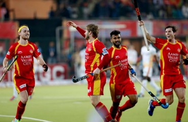 Rampant Ranchi Rays score a sensational 7-2 win against Kalinga Lancers