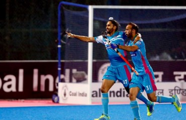 Double goals by Ramandeep Singh and Akashdeep Singh earns Uttar Pradesh Wizards their first win