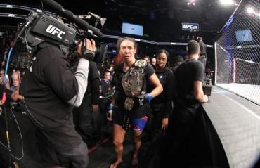 UFC 208 Results: Controversial win for Germaine de Randamie, Anderson Silva shines