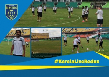 Kerala Blasters begin ISL preparations at Thiruvanantpuram