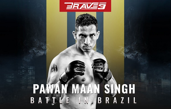 Pawan Maan Singh From Delhi To Be The First Indian MMA Fighter To Appear In Brazil | The Fan Garage (TFG)