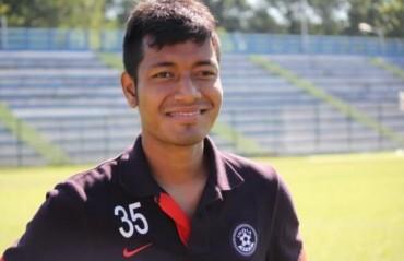 Happy homecoming: Aiborlang Khongjee returns to Shillong Lajong