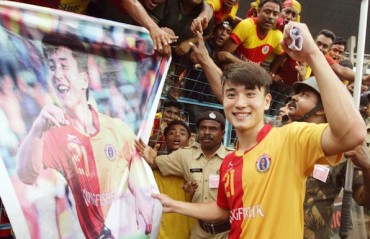 I idolize Messi when taking free-kicks East Bengal's  Do Dong-hyun