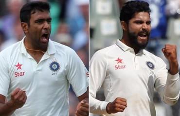 JODI NO 1: Ashwin and Jadeja share No.1 spot in ICC Test bowlers rankings