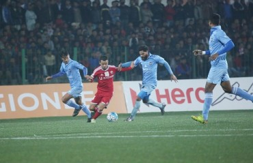 Play-by-Play: Dominating a half each, Churchill and Shillong play out a goalless draw